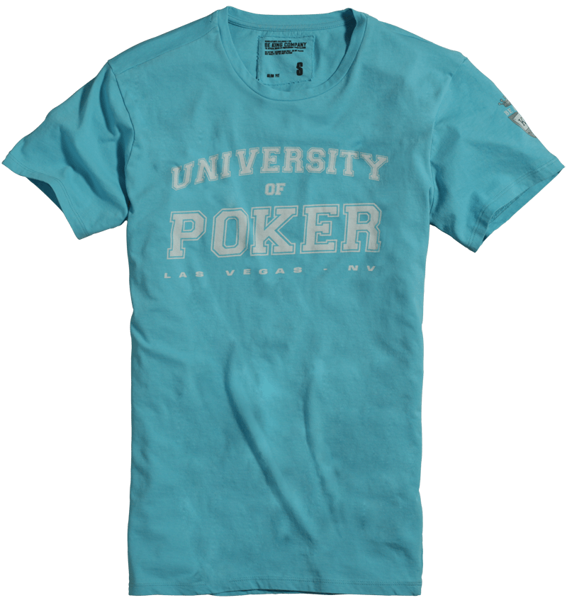 T-shirt BE KING Poker - Idée cadeau Noël #1